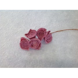 SHOLA ROSE 4CM OUDROOS 5ST