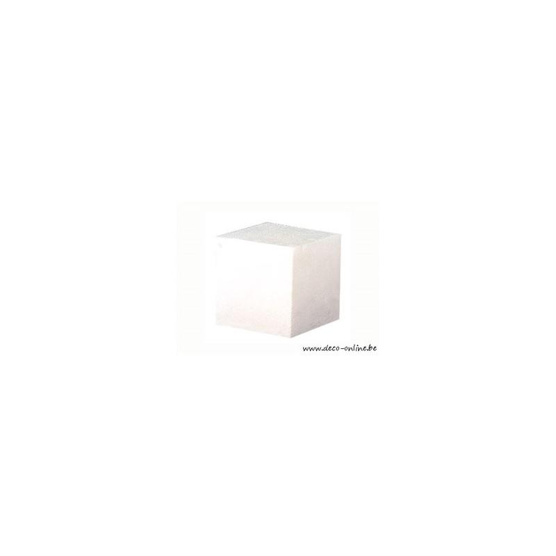 styropor polystyrene cube 100x100x100mm deco online. Black Bedroom Furniture Sets. Home Design Ideas