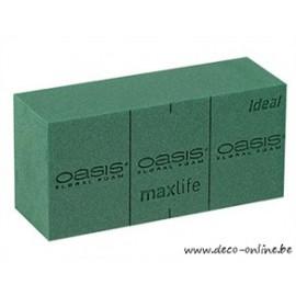 OASIS BRIQUE IDEAL MOUSSE FLORALE 23X11X8CM 20PC