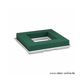 OASIS TABLE DECO QUADRO 27X27X4.5CM 1ST
