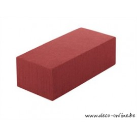 OASIS RAINBOW FOAM BRIQUE 23X11X8CM RUSTY RED 1PC