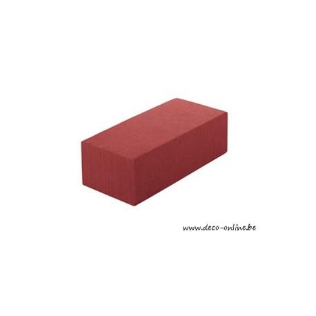 OASIS RAINBOW FOAM BLOK 23X11X8CM RUSTY RED 1ST