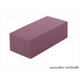 OASIS RAINBOW FOAM BLOK 23X11X8CM DEEP PURPLE 1ST