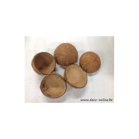 COCO NUT SHELL HALF NATUREL 5ST