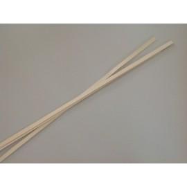 WOOD STRIPS 2CM/80CM WHITE WASH +/-500GR