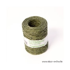 OASIS BINDWIRE FROSTED GREEN 205M 1PC