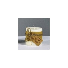 BOUGIE FROST IVORY D6.5 H6.5 1PC