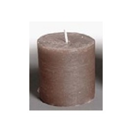 BOUGIE FROST TAUPE D6.5 H6.5 1PC