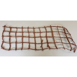 BROWN NET 40X100CM NATUREL