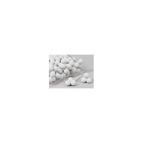 KERSTBOLLEN 20MM ARCTIC WHITE MAT 144ST