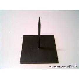 STAANDER (METALEN PIN/STAND) LARGE 25x25CM ZWART 1ST