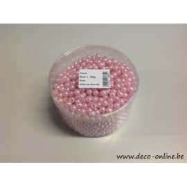 PERLES 8MM ROSE +/-1200ST