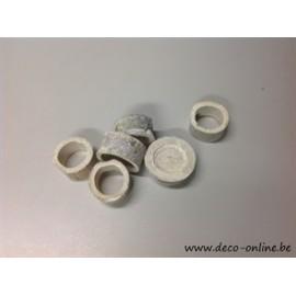 BAMBOE RING WHITE WASH +/-100GR
