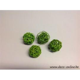 LATA BAL (BRANCH BAL) 4CM LIME GREEN 50PCS